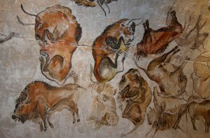 Cave Painting - Paleolithic, Cantabria, Spain painted 20,000 years ago