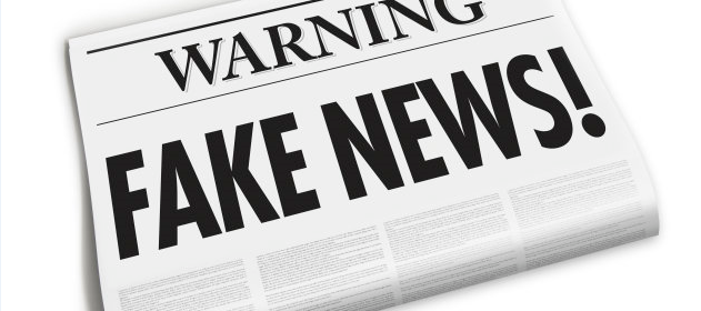"""""""Fake News"""" and Digital Technologies Infographic"""