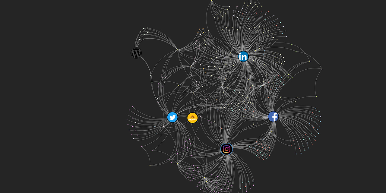 My own personal and over-detailed visual network map