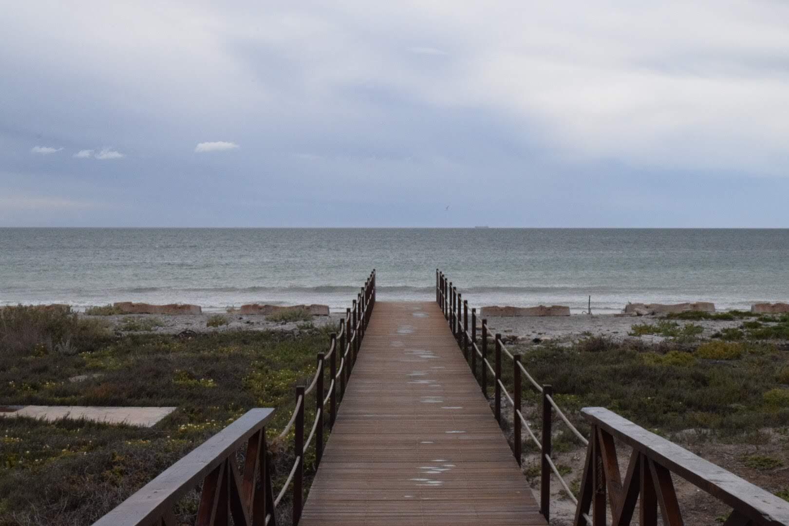 dock on ocean in SA